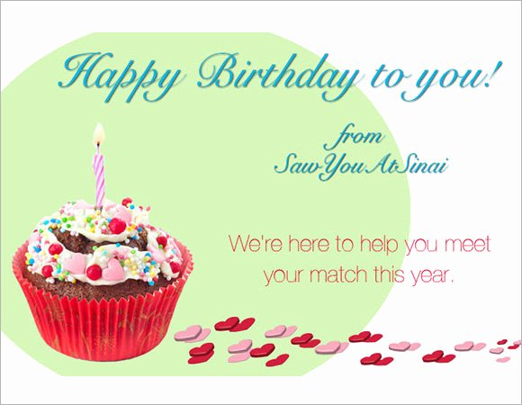 Happy Birthday Email Template Best Of 7 Sample Happy Birthday Emails