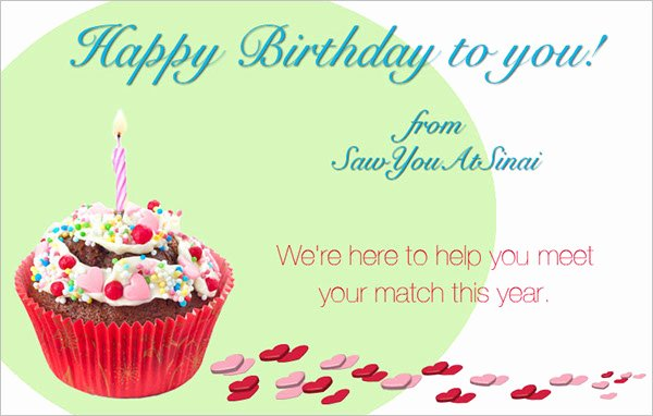 Happy Birthday Email Template New 15 Happy Birthday Email Templates Free & Premium Designs