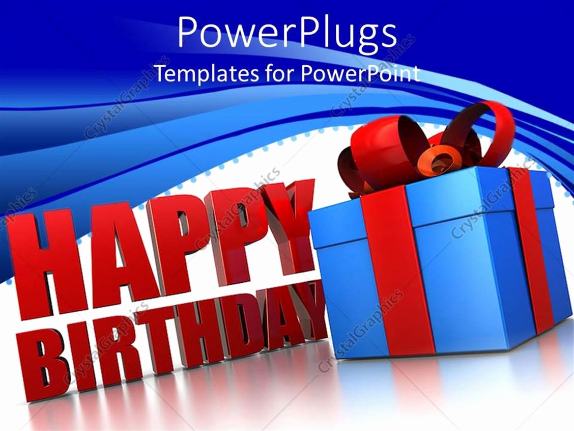 Happy Birthday Sign Template Awesome Powerpoint Template Happy Birthday Sign Next to Blue