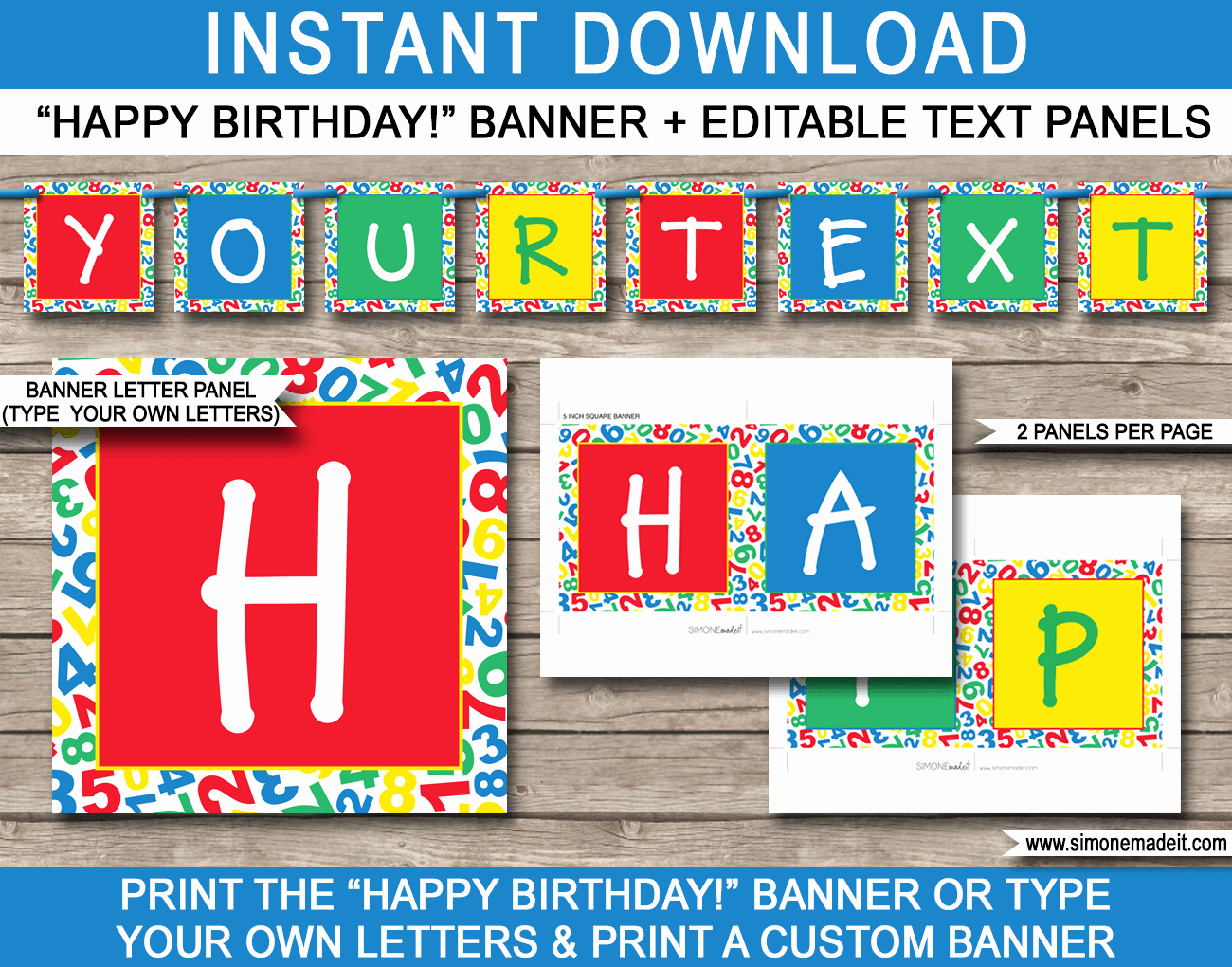 Happy Birthday Sign Template Elegant Sesame Street Party Banner Template