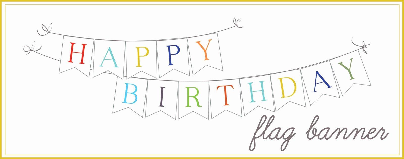Happy Birthday Sign Template Elegant Sissyprint Happy Birthday Banner