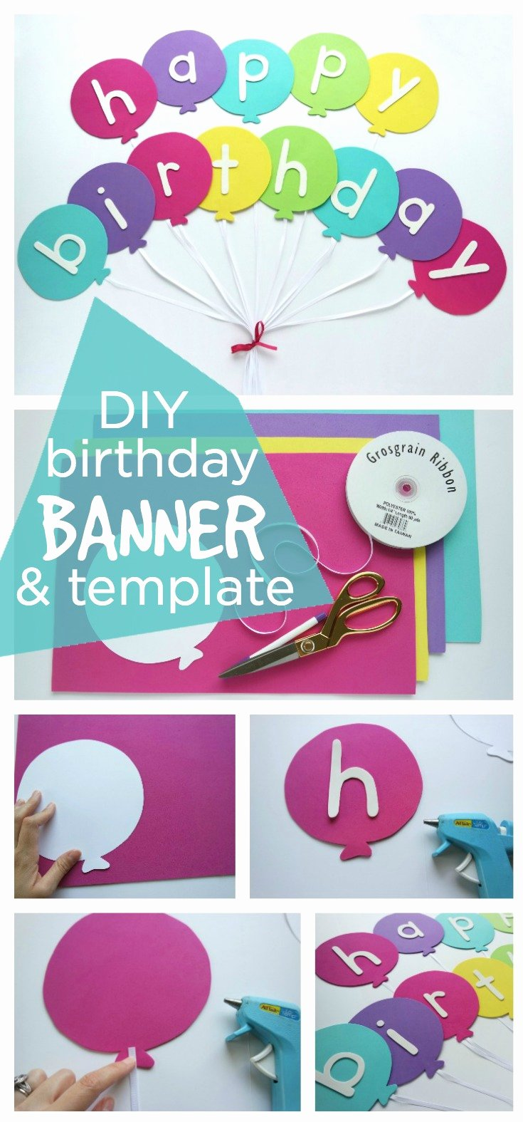 Happy Birthday Sign Template Fresh Happy Birthday Banner Diy Template