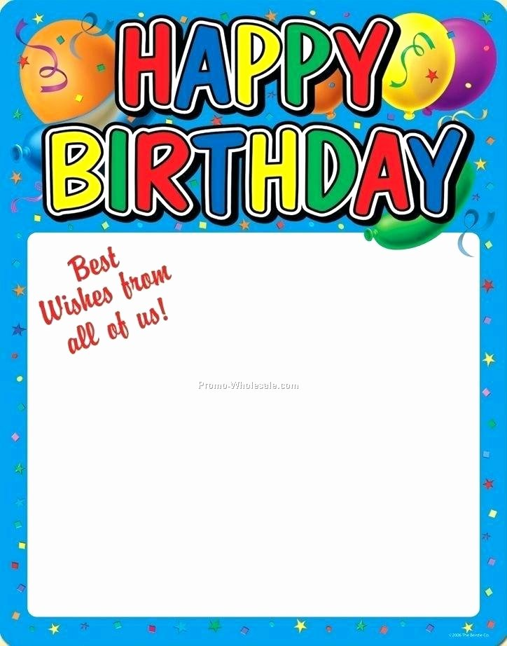Happy Birthday Sign Template Luxury Happy Birthday Poster Template – Wordsmithservices