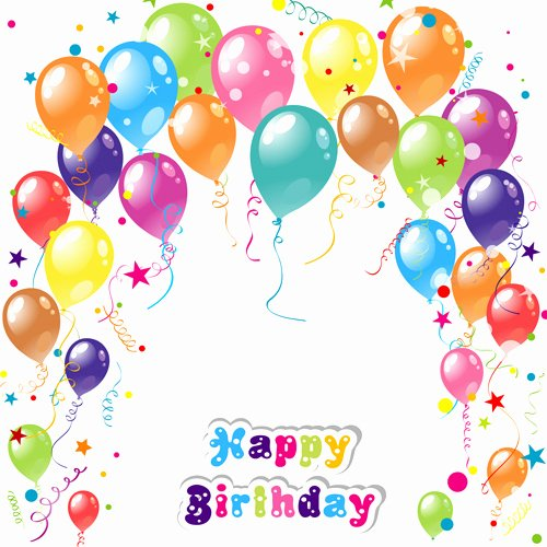 Happy Birthday Template Free Best Of Happy Birthday Background Template Free Vector