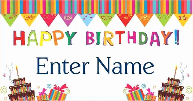 Happy Birthday Template Free Elegant Free Printable Happy Birthday Banner Templates Printable