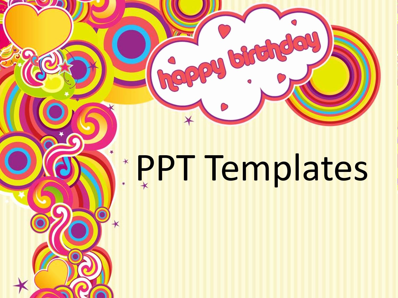 Happy Birthday Template Free Fresh 18 Birthday Powerpoint Templates Free Birthday