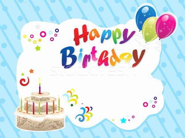 Happy Birthday Template Free Lovely Happy Birthday Template Printable – Happy Holidays