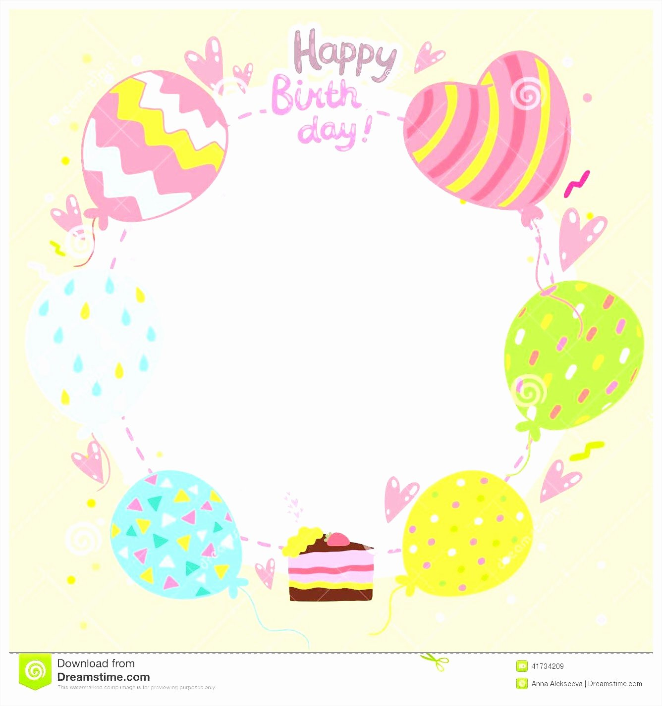 birthday card templates free