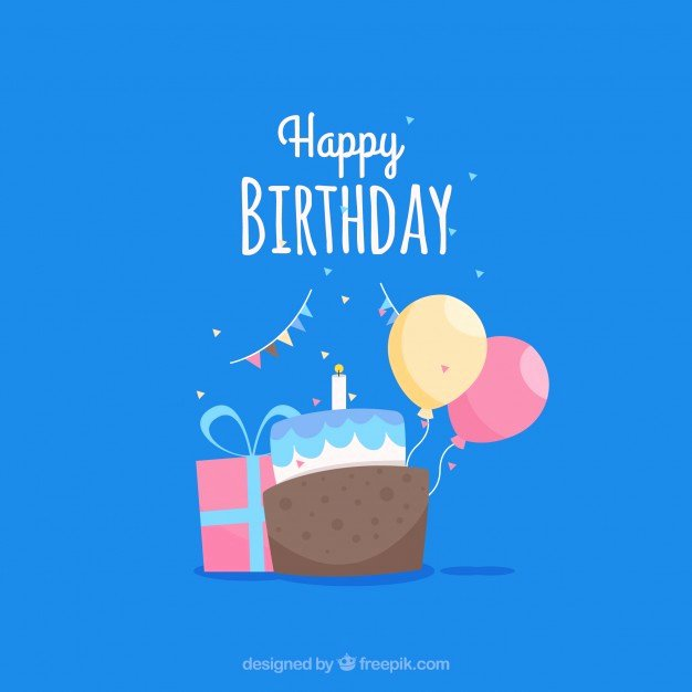 Happy Birthday Template Free Unique Happy Birthday Card Template Vector