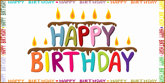 Happy Birthday Template Word Best Of 6 Birthday Templates