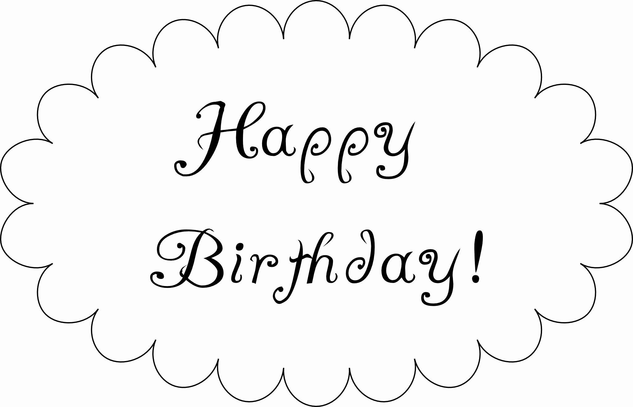 Happy Birthday Template Word Fresh Mind Games