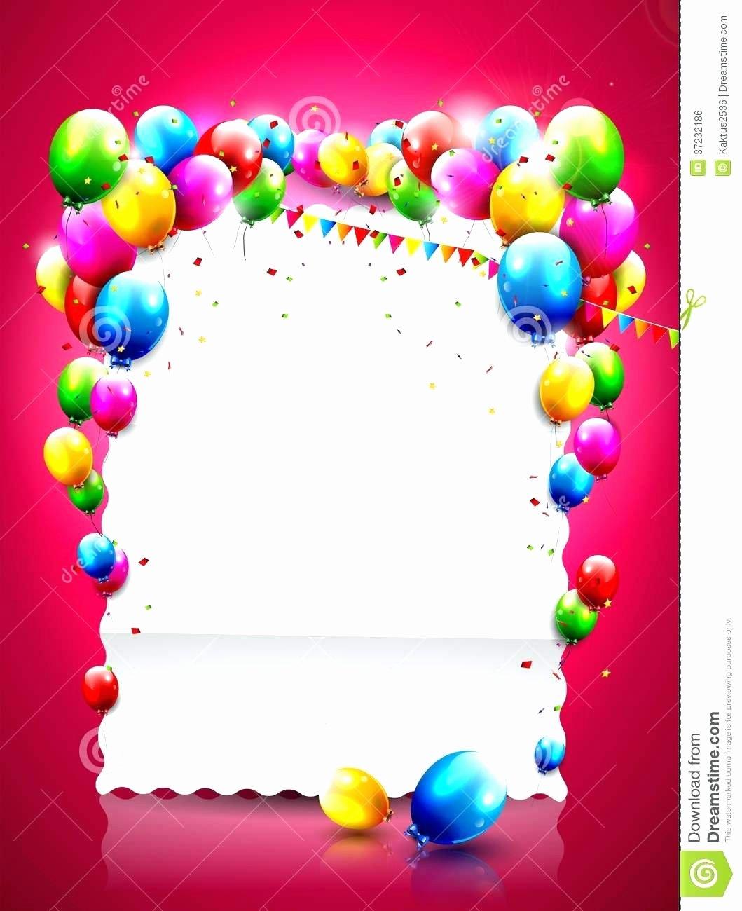 Happy Birthday Template Word Fresh Template Word Happy Birthday Template