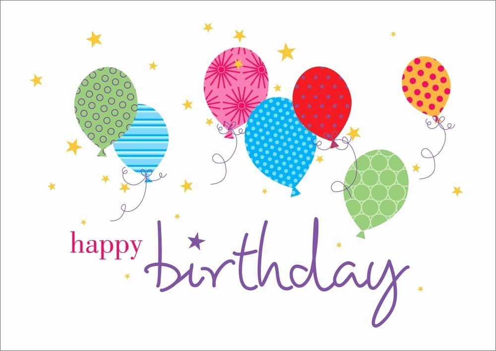 Happy Birthday Template Word Fresh top 5 Free Birthday Card Templates Word Templates Excel