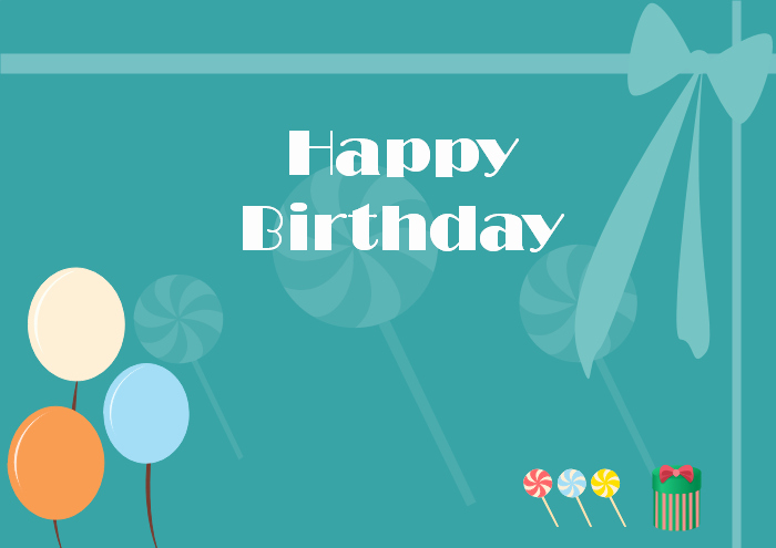 Happy Birthday Template Word Lovely Free Editable and Printable Birthday Card Templates