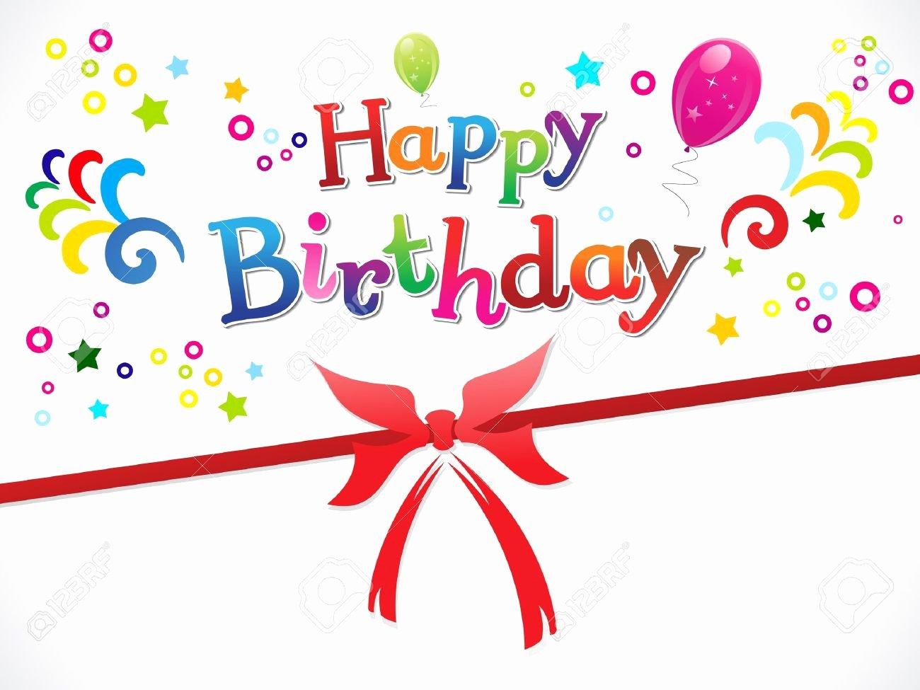 Happy Birthday Template Word Luxury Birthday Card Template