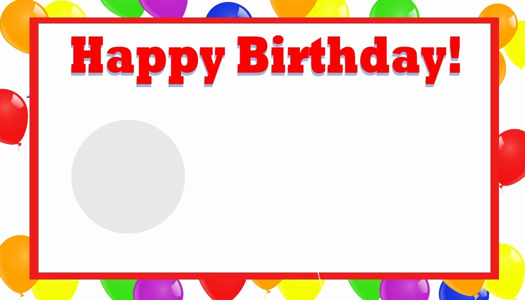Happy Birthday Template Word Luxury Happy Birthday Template Word
