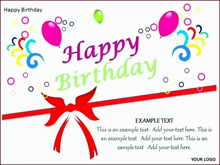 Happy Birthday Template Word New 8 Birthday Banner Template Template Update234