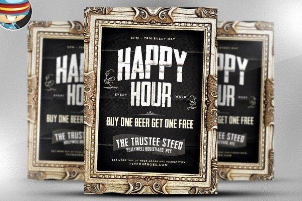 Happy Hour Flyer Template Luxury 23 Happy Hour Flyer Templates Psd Vector Eps Jpg