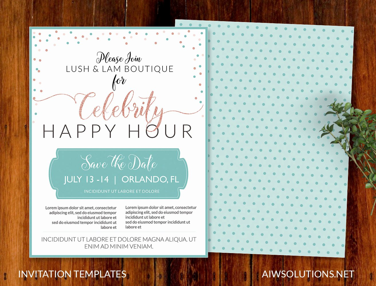 Happy Hour Invite Template Awesome Product Promotion Flyer A4 Flyer Presentation Flyer