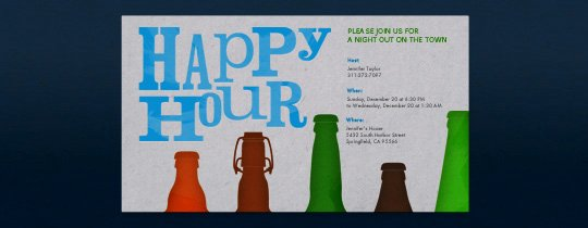 Happy Hour Invite Template Unique Happy Hour Free Online Invitations