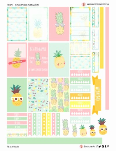 Happy Planner Sticker Template Awesome Daily Planner Printable Free Happy Planner Printables