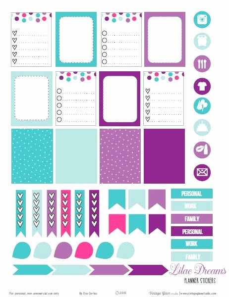 Happy Planner Sticker Template Best Of 16 Best Images About Printable Calendars Planners & to Do
