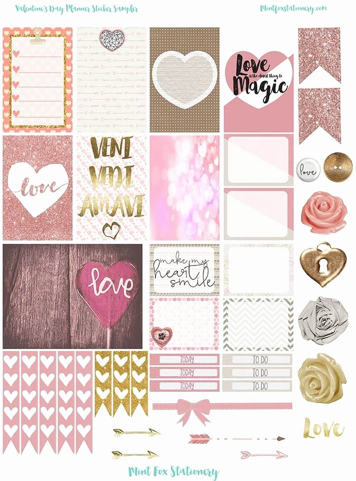 Happy Planner Sticker Template Best Of 2266 Best Images About Printables On Pinterest