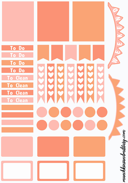 Happy Planner Sticker Template Inspirational More Diy Erin Condren Life Planner Stickers Template