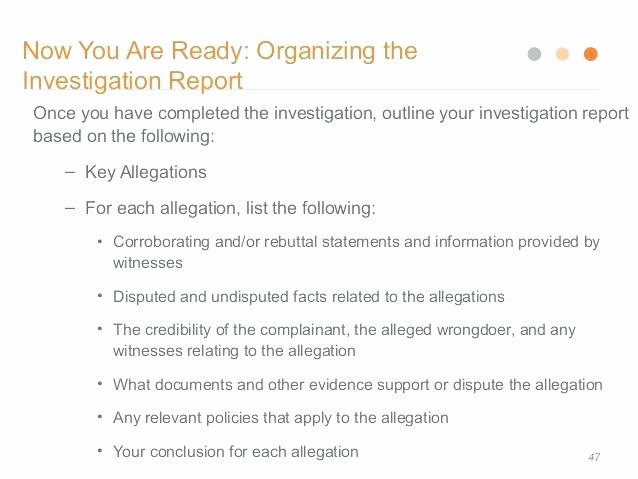 Harassment Investigation Report Template Awesome Workplace Investigation Report Template Ual Harassment