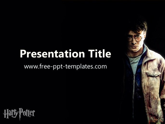 Harry Potter Powerpoint Template Beautiful Harry Potter Ppt Template