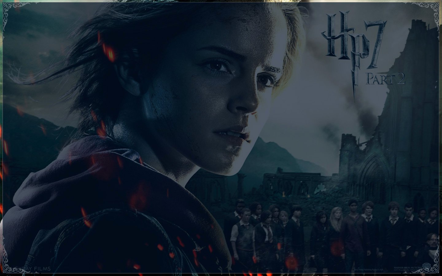 Harry Potter Powerpoint Template Best Of Harry Potter and the Deathly Hallows Part 2 Wallpapers