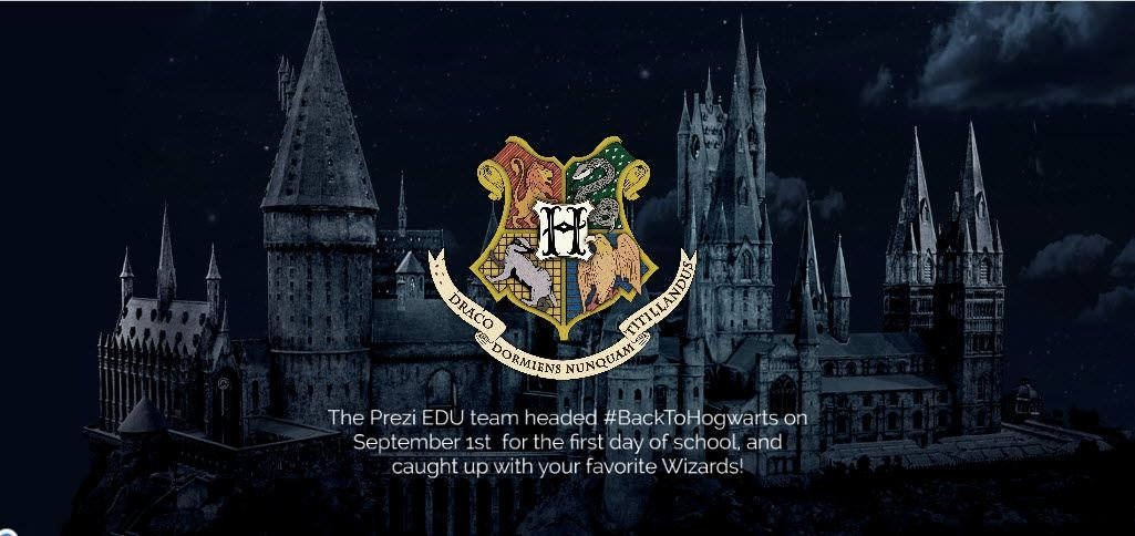 Harry Potter Powerpoint Template Elegant Harry Potter Prezi Presentation On Back to School Tips