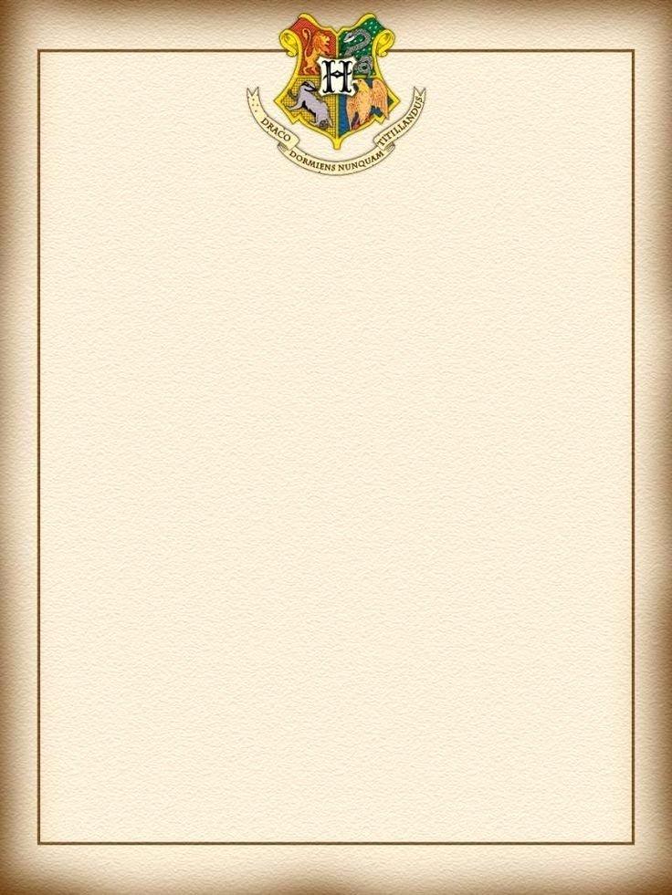 Harry Potter Powerpoint Template Luxury Harry Potter Letter Template Templates Station
