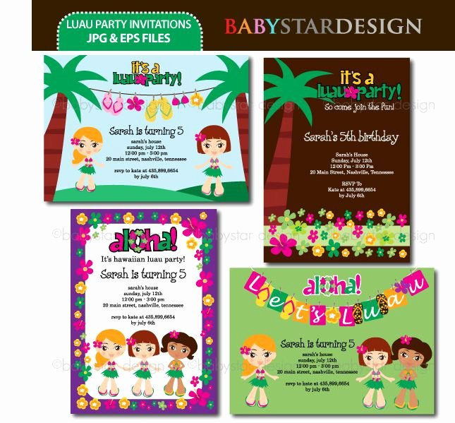 Hawaiian Party Invitation Template Fresh 20 Best Luau Party Ideas Clipart and Backgrounds Images