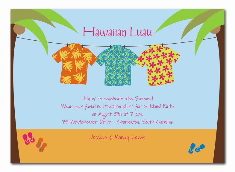 Hawaiian Party Invitation Template Luxury Blogsinteractive Blog