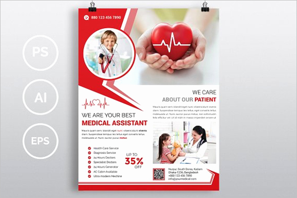 Health Fair Flyer Template Best Of 25 Medical Flyer Templates Free Word Psd Designs