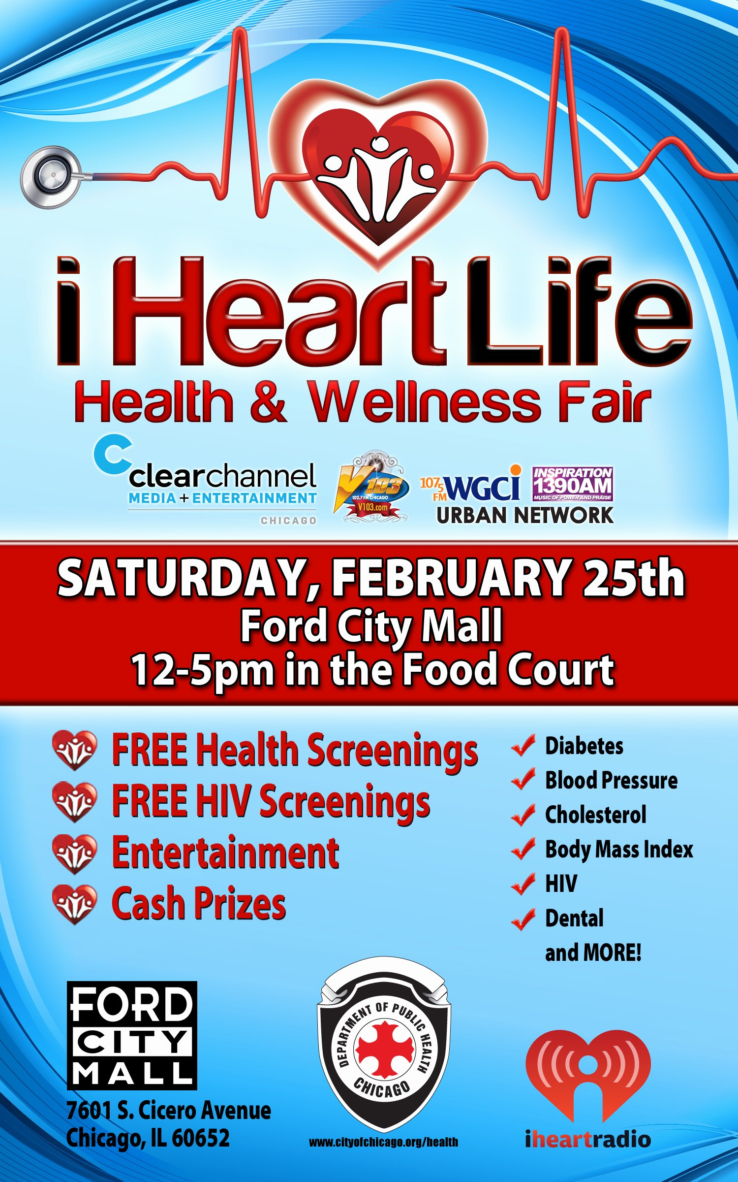 Health Fair Flyer Template Fresh City Of Chicago Wellness Fair This Saturday