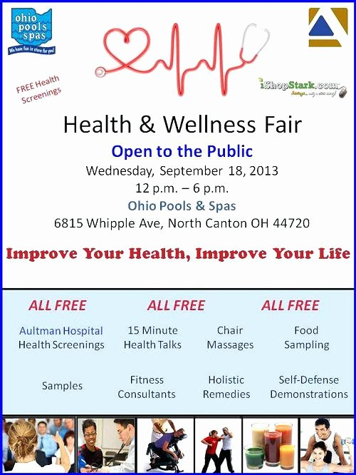 Health Fair Flyer Template Fresh Wellness Flyer Template Health Templates – Cassifields