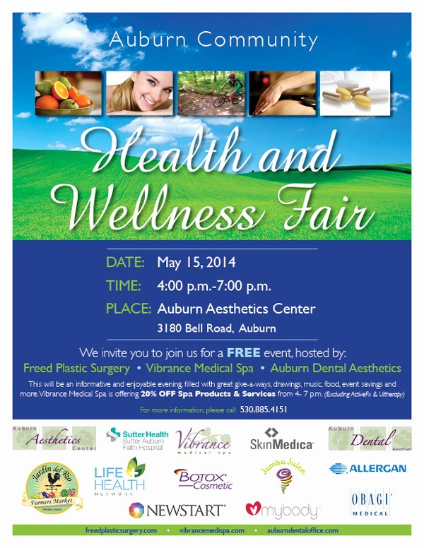 Health Fair Flyer Template Lovely Health Fair May 15