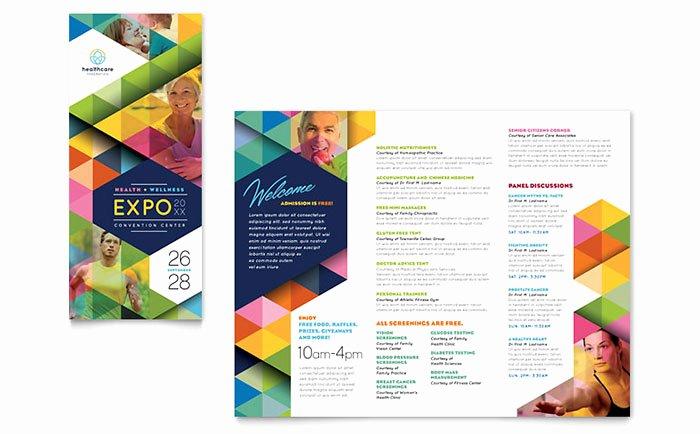 Health Fair Flyer Template Lovely Health Fair Tri Fold Brochure Template Word & Publisher