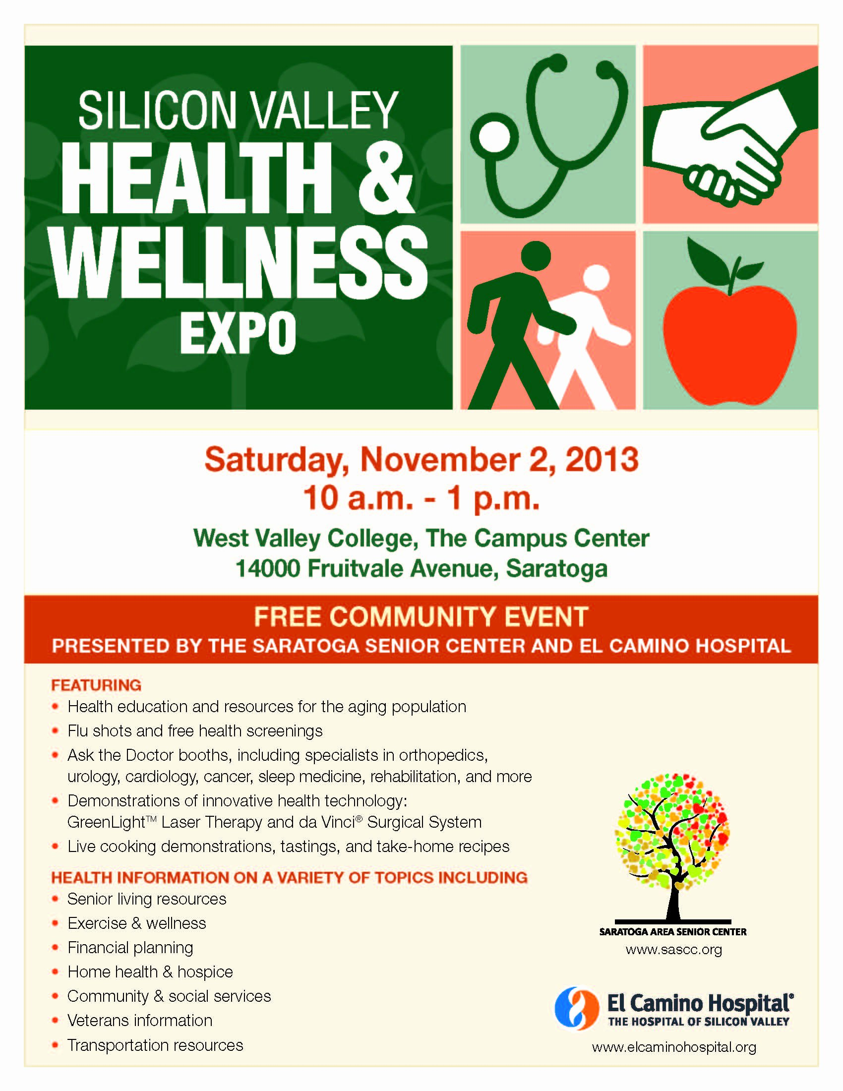 Health Fair Flyer Template Unique 7 Best Of Health and Wellness Flyer Health and