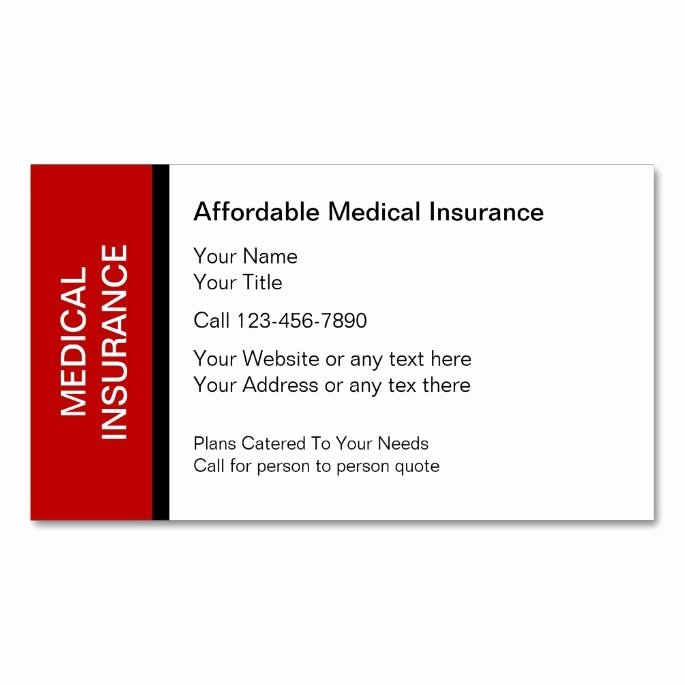Health Insurance Card Template Beautiful 2183 Best Images About Medical Health Business Card