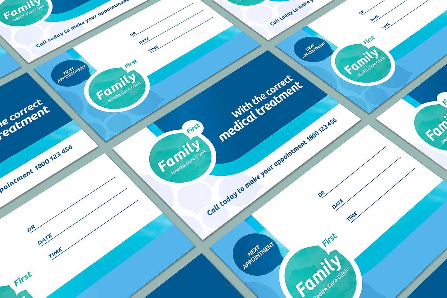 Health Insurance Card Template Best Of Healthcare Clinic Appointment Card Template In Psd Ai