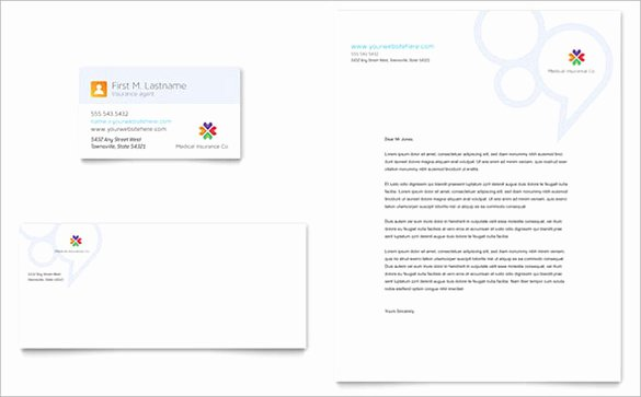 Health Insurance Card Template Elegant Business Letterhead Template 19 Download In Psd Vector