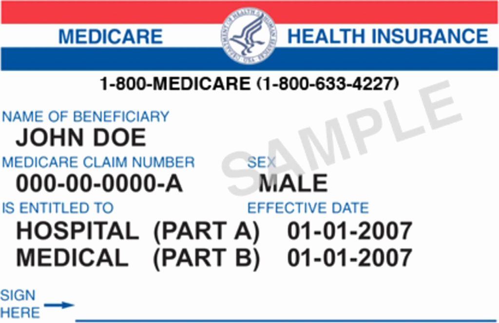 Health Insurance Card Template Luxury Free Medicare Facts Medicare Card Free Medicare Facts