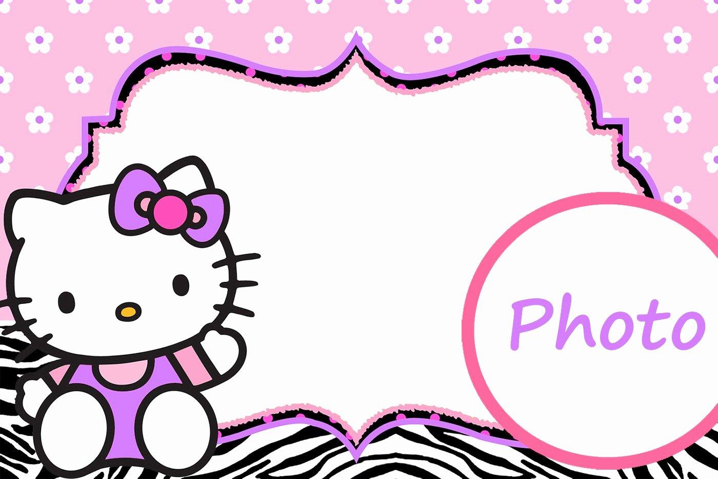 Hello Kitty Invitation Template Best Of Hello Kitty Free Printable Invitation Templates