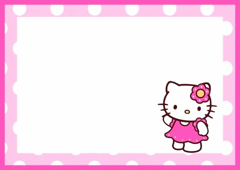 Hello Kitty Invitation Template Luxury Hello Kitty Baptism Invitation Template Hello Kitty