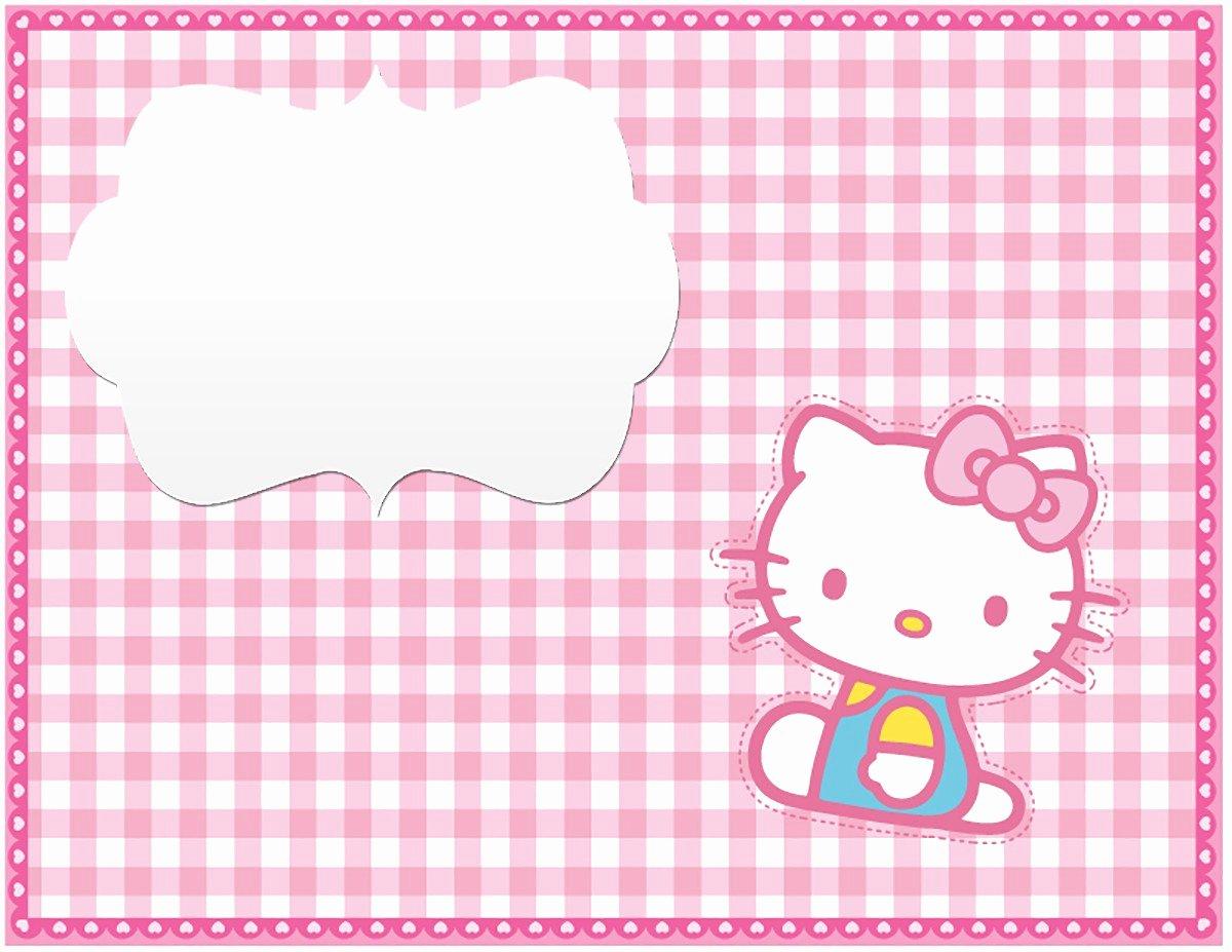 Hello Kitty Invitation Template New Hello Kitty Free Printable Invitation Templates