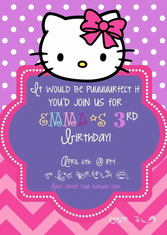 Hello Kitty Invite Template Awesome 581 Best Images About Hello Kitty On Pinterest