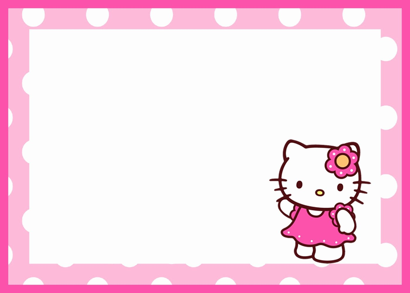 Hello Kitty Invite Template Inspirational Hello Kitty Free Printable Invitation Templates